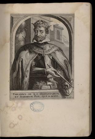 Philippus III D. G. Hispaniarum et Indiarum Rex.