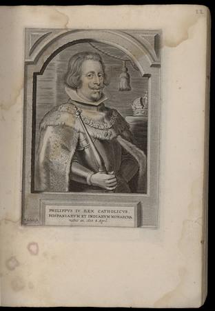 Philippus IV Rex catholicus Hispaniarum et Indiarum monarcha
