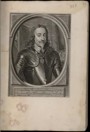 Serenissimus Potentissimusque princeps Carolus dei gratia Magna Britanniae…