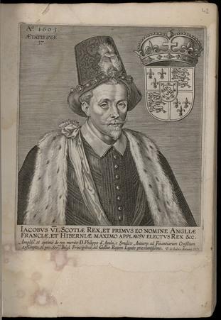 Iacobus VI. Scotiae Rex, et primus eo nomine Angliae Franciae, et Hibernae…