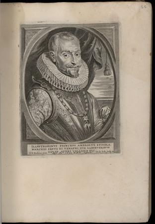 Illustrissimus Princeps Ambrosius Spinola, marchio sestii et venafri, dux …