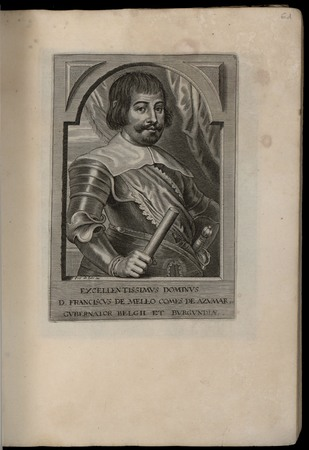 Excelentissimus dominus D. Franciscus de Mello comes de Azumar Gubernator …