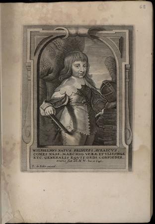 Wilhelmus natus princeps Auraicus, comes Nass. Marchio verae et Ulissingae…