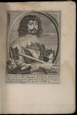 Ernest conte d'Isenburg et de Grensaw et chevalier de l'ordre du Toison d'…