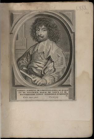 Carolus Albertus de Longueval comes de Buquoy et de Gratzen, baro de Vaux …