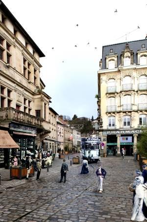 Épinal, rue de l'Hôtel-de-Ville