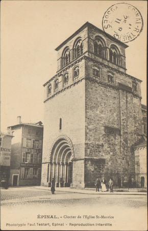 Épinal, Clocher de l'Église St-Maurice