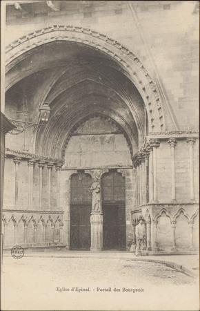 Église d'Épinal, Portail des Bourgeois