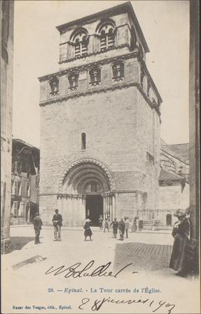Épinal, La Tour carrée de l Église