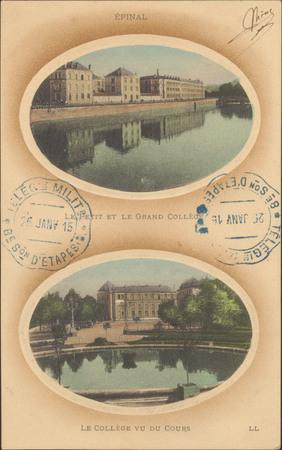 Épinal, Le Petit et le Grand Collège, Le Collège vu du Cours