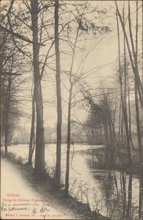 Épinal, Étang du Château Poissompré