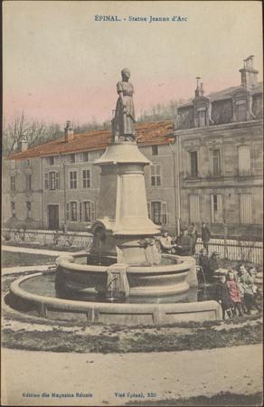Épinal, Statue Jeanne d'Arc