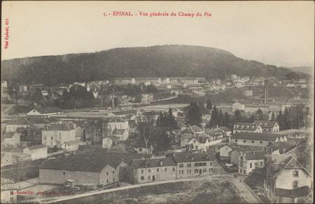 Épinal, Vue générale du Champ du Pin