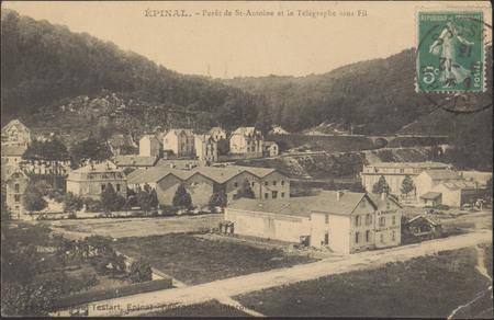 Épinal, Forêt de St-Antoine et le Télégraphe sans fil