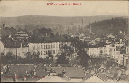 Épinal, Hôpital Civil et Militaire