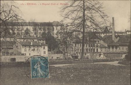 Épinal, L'Hôpital Civil et Militaire