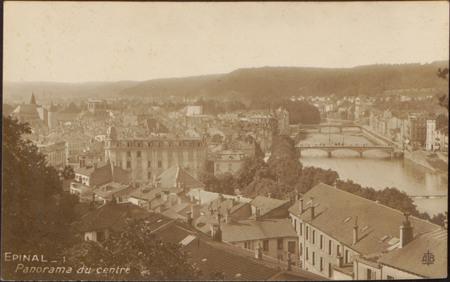 Épinal, Panorama du centre