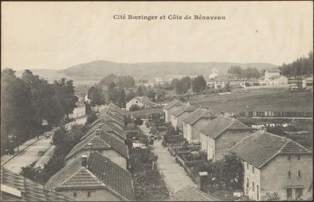 Cité Boeringer et Côte de Bénaveau
