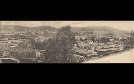 Épinal, Vue panoramique