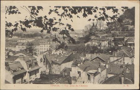 Épinal, Vue prise du Château