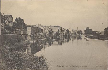 Épinal, Le Faubourg d'Alsace