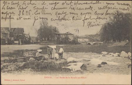 Épinal, Les Bords de la Moselle au Cours
