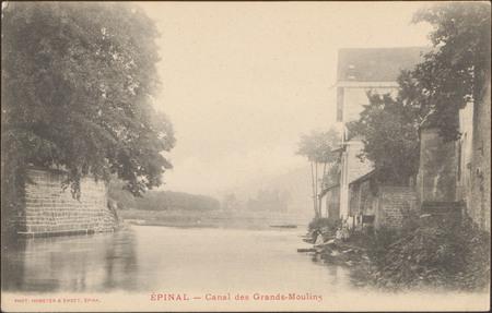 Épinal, Canal des Grands-Moulins