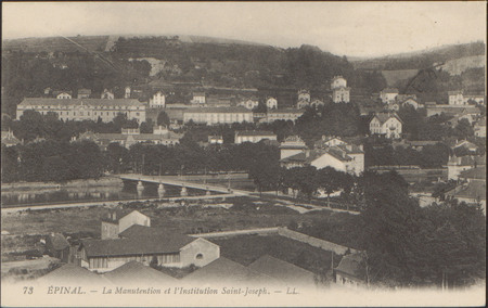 Épinal, La Manutention et l'Institution Saint-Joseph