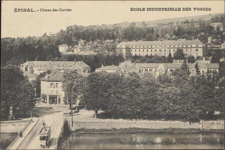 Épinal, Côteau des Corvées, École Industrielle des Vosges