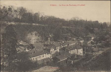 Épinal, Le Haut du Faubourg d'Ambrail