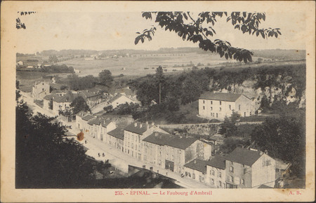 Épinal, Le Faubourg d'Ambrail