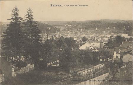 Épinal, Vue prise de Chantraine