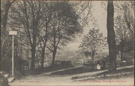 Épinal, Au Château, Point de vue Sud-Ouest