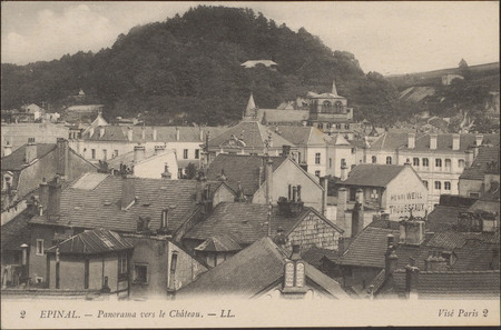 Épinal, Panorama vers le Château