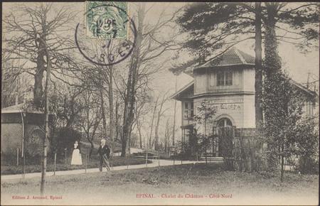 Épinal, Le Châlet du Château, Côté Nord