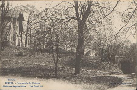 Épinal, Promenade du Château