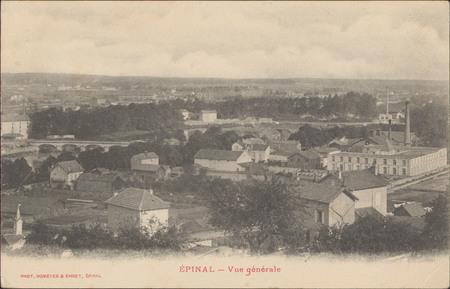 Épinal, Vue générale