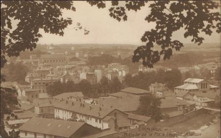 Épinal, Marché de la Place Léopold, Abattoir