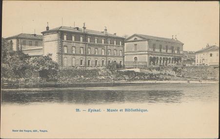 Épinal, Musée et Bibliothèque