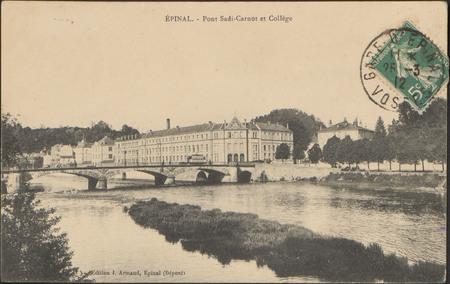 Épinal, Pont Sadi-Carnot et Collège