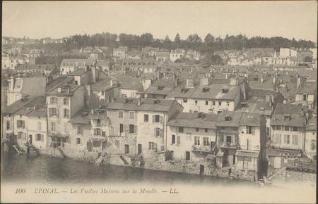 Épinal, Les Vieilles Maisons sur la Moselle
