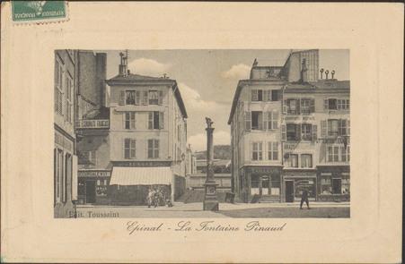Épinal, La Fontaine Pinau