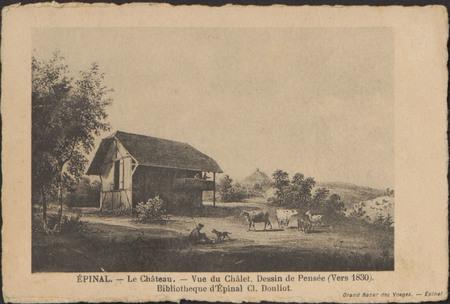 Épinal, Le Château, Vue du Châlet […]