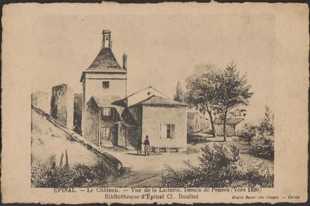 Épinal, Le Château, Vue de la Laiterie […]