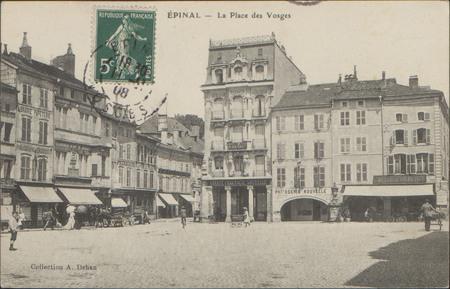 Épinal, La Place des Vosges