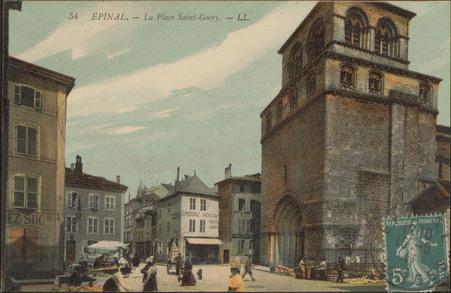 Épinal, La Place Saint-Goéry
