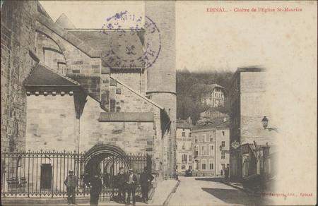 Épinal, Cloitre de l'Église St-Maurice