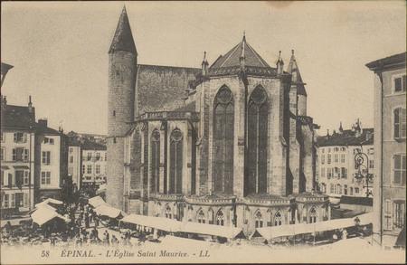 Épinal, L'Église Saint-Maurice