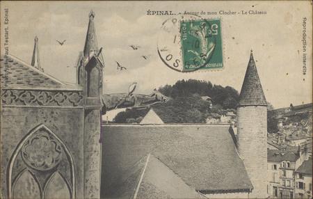 Épinal, Autour de mon clocher, Le Château