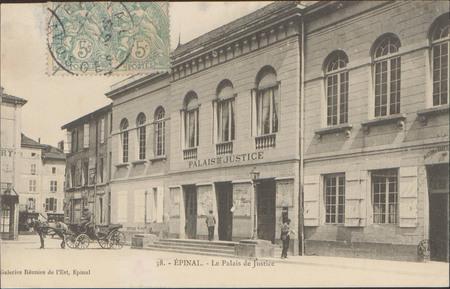 Épinal, Le Palais de Justice